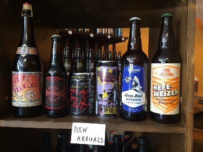bottled beer new this week